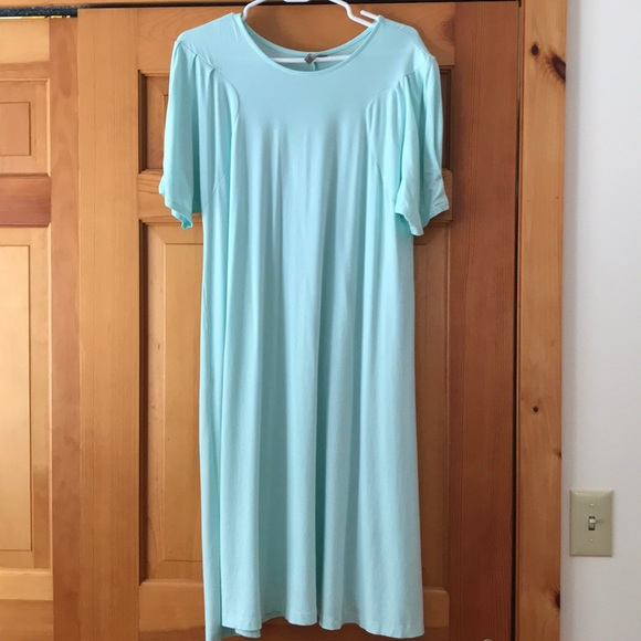 37abfcfa6209d ASOS Dresses & Skirts - ASOS robins egg blue maternity tunic